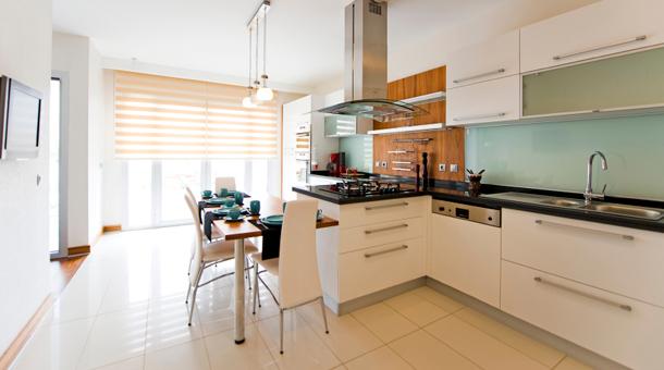 Muebles de cocina mdf blanco for Muebles de cocina modernos color blanco